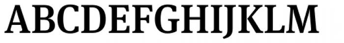 FF Meta Serif OT Medium Font UPPERCASE