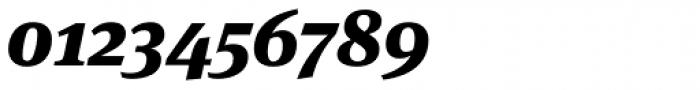 FF Meta Serif Pro Black Italic Font OTHER CHARS