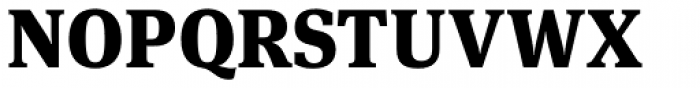 FF Meta Serif Pro Black Font UPPERCASE