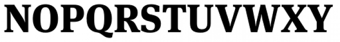 FF Meta Serif Pro ExtraBold Font UPPERCASE