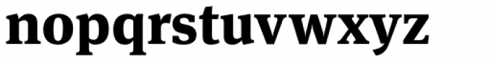 FF Meta Serif Pro ExtraBold Font LOWERCASE