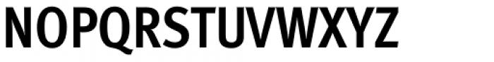 FF Meta Std Condensed Bold Font UPPERCASE
