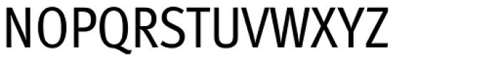 FF Meta Std Condensed Book Font UPPERCASE