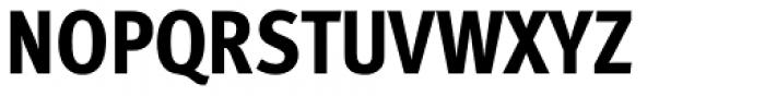 FF Meta Std Condensed Extrabold Font UPPERCASE
