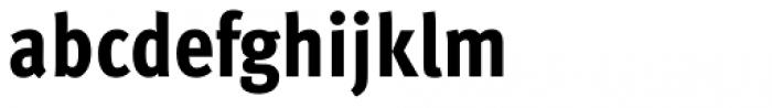 FF Meta Std Condensed Extrabold Font LOWERCASE