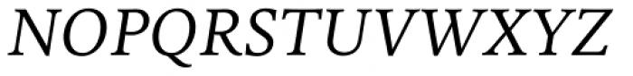 FF Milo Serif OT Italic Font UPPERCASE