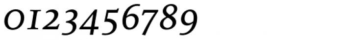 FF Milo Serif OT Text Italic Font OTHER CHARS