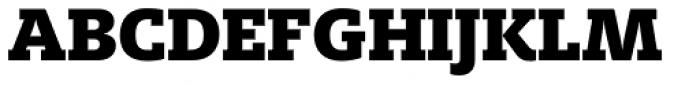 FF Milo Slab OT Black Font UPPERCASE