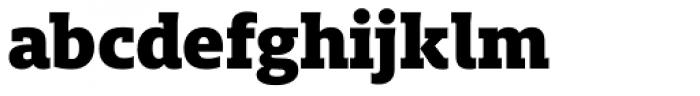 FF Milo Slab OT Black Font LOWERCASE