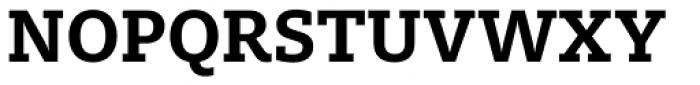 FF Milo Slab OT Bold Font UPPERCASE