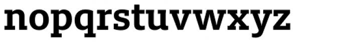 FF Milo Slab OT Bold Font LOWERCASE