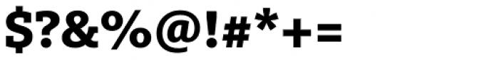 FF Milo Slab OT ExtraBold Font OTHER CHARS