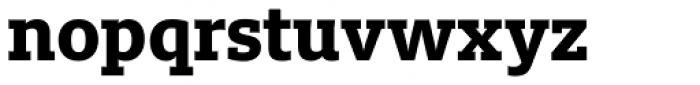 FF Milo Slab OT ExtraBold Font LOWERCASE
