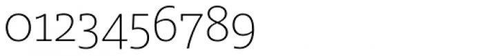 FF Milo Slab OT ExtraLight Font OTHER CHARS
