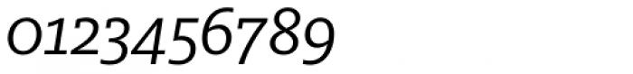 FF Milo Slab OT Italic Font OTHER CHARS