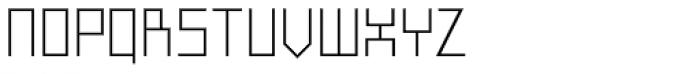 FF Minimum A Light Font UPPERCASE