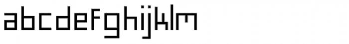 FF Minimum A Medium Font LOWERCASE
