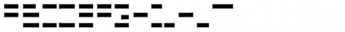 FF Minimum B Horizontal Bold Font UPPERCASE