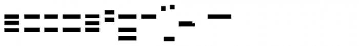 FF Minimum B Horizontal Bold Font LOWERCASE