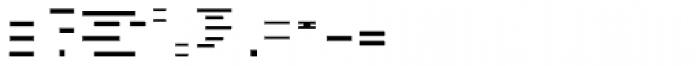 FF Minimum B Horizontal Medium Font OTHER CHARS