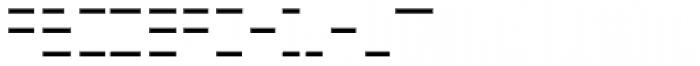 FF Minimum B Horizontal Medium Font UPPERCASE
