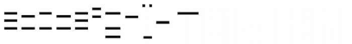 FF Minimum B Horizontal Medium Font LOWERCASE
