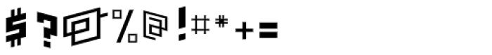 FF Minimum Bong Bold Font OTHER CHARS