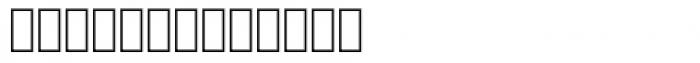 FF Mister K Dingbats UI Font LOWERCASE