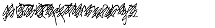 FF Mister K OT Crossout Font UPPERCASE