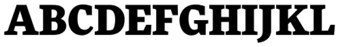 FF More OT Black Font UPPERCASE