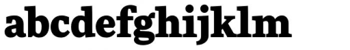 FF More OT Black Font LOWERCASE