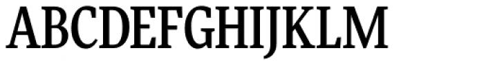 FF More OT Condensed Medium Font UPPERCASE