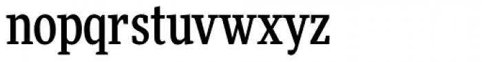 FF More OT Condensed Medium Font LOWERCASE