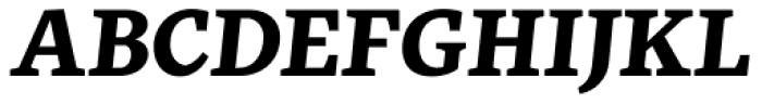 FF More OT Wide Bold Italic Font UPPERCASE