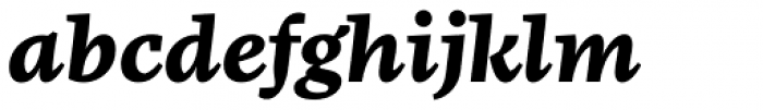 FF More OT Wide Bold Italic Font LOWERCASE