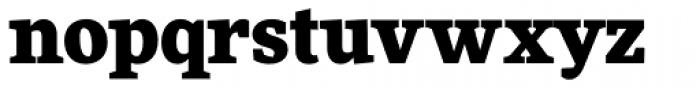 FF More Pro Black Font LOWERCASE