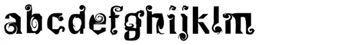 FF Mulinex Font LOWERCASE