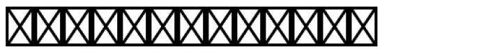 FF Netto Icons Regular UI Font UPPERCASE