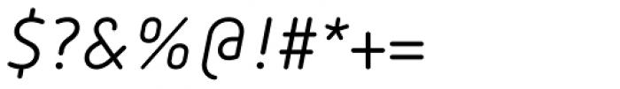 FF Netto OT Italic Font OTHER CHARS