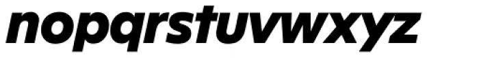 FF Neuwelt Black Italic Font LOWERCASE