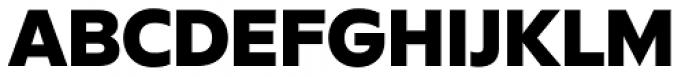 FF Neuwelt Black Font UPPERCASE
