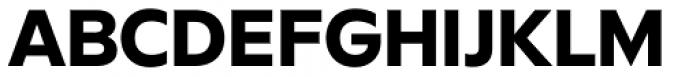 FF Neuwelt Extra Bold Font UPPERCASE