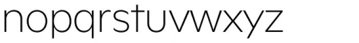 FF Neuwelt Extra Light Font LOWERCASE