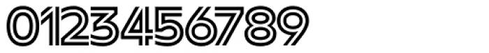 FF Neuwelt Inline Font OTHER CHARS