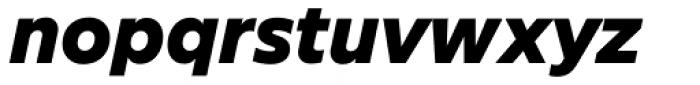 FF Neuwelt Text Black Italic Font LOWERCASE
