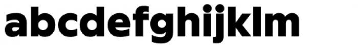 FF Neuwelt Text Black Font LOWERCASE