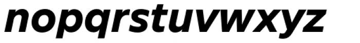 FF Neuwelt Text Extra Bold Italic Font LOWERCASE