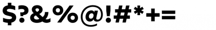FF Neuwelt Text Extra Bold Font OTHER CHARS