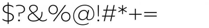 FF Neuwelt Text Extra Light Font OTHER CHARS
