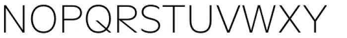 FF Neuwelt Text Extra Light Font UPPERCASE